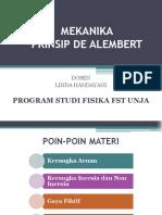 Prinsip d Alembert