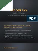Income Tax - TRAIN