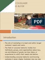 Analyzing+consumer+markets+and+buyer+behavior