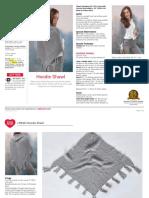 Hoddie scarf knitting