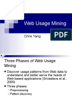 Web Usage Mining Chris Yang3114