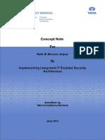 Concept Note - Safe & Secure JaipurV2.0 20-06-2012 v2.0.doc