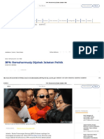BPN_ Romahurmuziy Dijebak Jabatan Politik