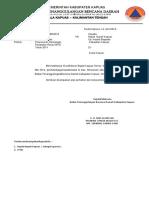 Surat pengantarRenja Perubahan BPBD.docx
