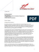 Desaparecidos Letter to UN WGEID 15 March 2019 on the delisting of enforced disappearance