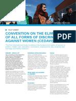 CEDAW-Factsheet