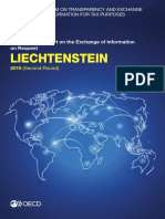 Liechtenstein Second Round Peer Review Report