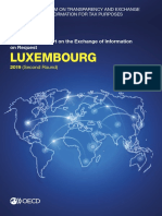 Luxembourg Second Round Peer Review