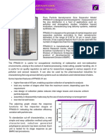 Particle size analyser