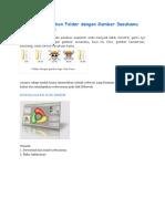 Cara Merubah Ikon Folder Dengan Gambar Sesukamu