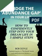 Bridge the Gap, Abundance Gap in Your Life -by Bob Doyle.pdf
