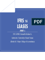 IFRS 16 - Leases (Part 1)