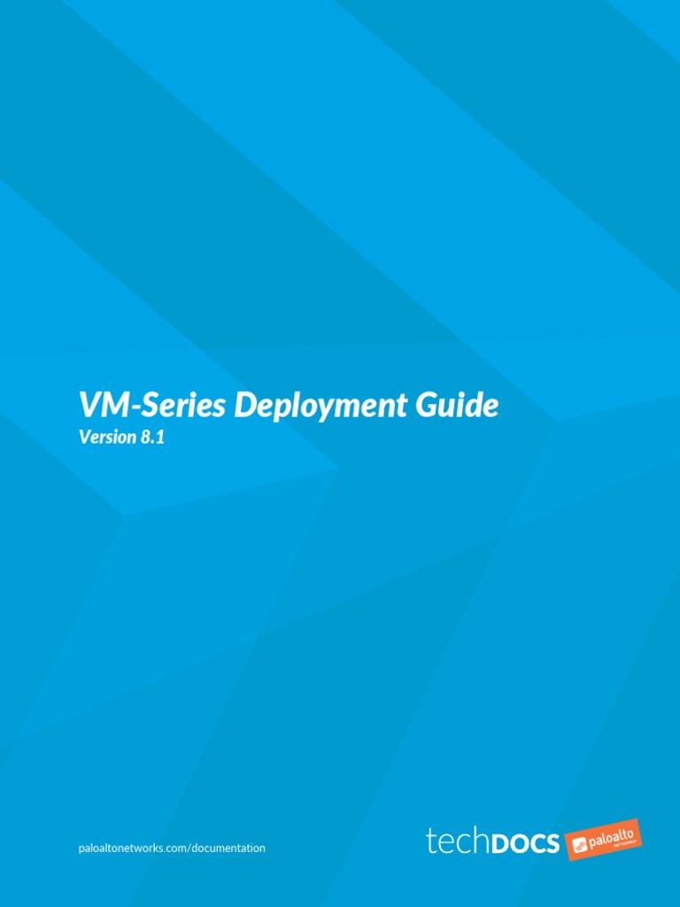 vm-series-deployment pdf   Cloud Computing   Hyper V