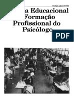 formação profissional de psicologos