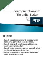 Pembentangan Proposal Powerpoin Interaktif