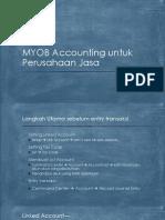 2. MYOB Accounting untuk Perusahaan Jasa.pptx