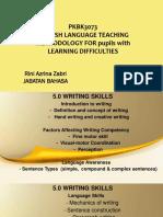 5.0 Writing Skills