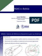 Sanchez SIRGAS Bolivia