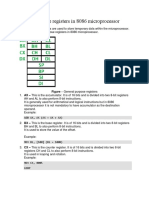 General Purpose Registers in 8086 Microprocessor