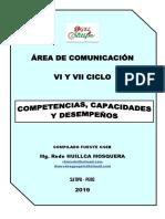 2019 COMPETENCIAS COMUNICACIÓN SECUNDARIA VI Y VII CICLO CNEB RODE.docx