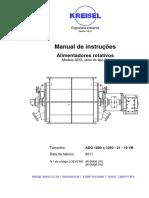 1 Manual de Instruções - Alimentadores Rotativos Kreisel