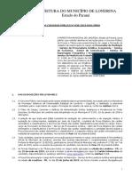 Edital 030 2019 Do Concurso Publico de Londrina Pr