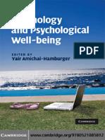 Technology and Psychology - [Yair_Amichai-Hamburger].pdf