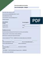 Ficha de inscrição - ESRaD