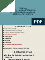 3.0 Speaking Skills