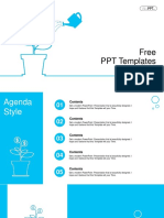 Plant Dollar Coins Powerpoint Templates 1 Infographics