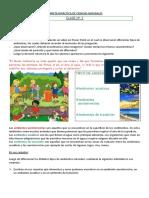 Carpeta Didáctica de Ciencias Naturales Unidad 1