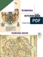 Romania Perioada Interbelica