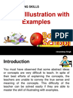 micro teach evaluation examples