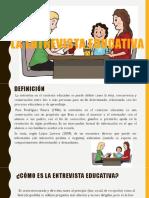 La Entrevista Educativa