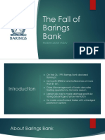 The Barings Bank