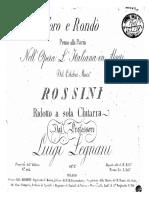 Legnani Coro e Rondò Op.8 (Ed. Ricordi)