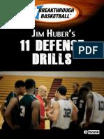 11 Defense Drills