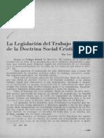 La Legislación Del Trabajo