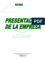 PRESENTACION ASERFIRE