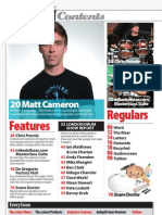 Drummer Magazine Issue 85 Contents