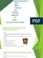 Molina Fallas de Pistones