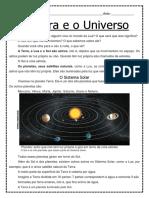 A Terra e o Universo