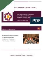 Basic Understanding of Diplomacy