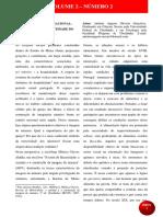 Volume 2 Número 2 Do Regional Ao Nacional_ a Cozinha e a Identidade Do Mineiro