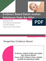 Evidence Based Dalam Asuhan Kebidanan Pada Ibu Nifas