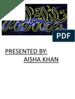 Aisha Khan 2