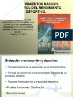 Introduccion Del Control y Evaluacion Deportiva