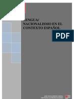 LENGUA/ NACIONALISMO EN EL CONTEXTO ESPAÑOL-Moreno Cabrera