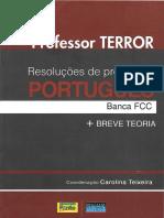 Professor Terror- Resolução de Provas de Português - FCC- 2015.pdf