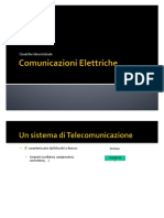 comunicazioni elettriche